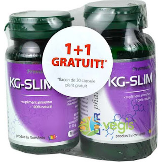 Comanda de aici pachetul promotional 1+1 gratis  Kg-Slim