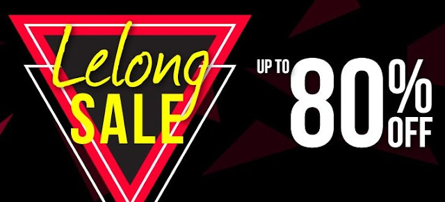 SHOPEE LELONG: Get up to 80% off