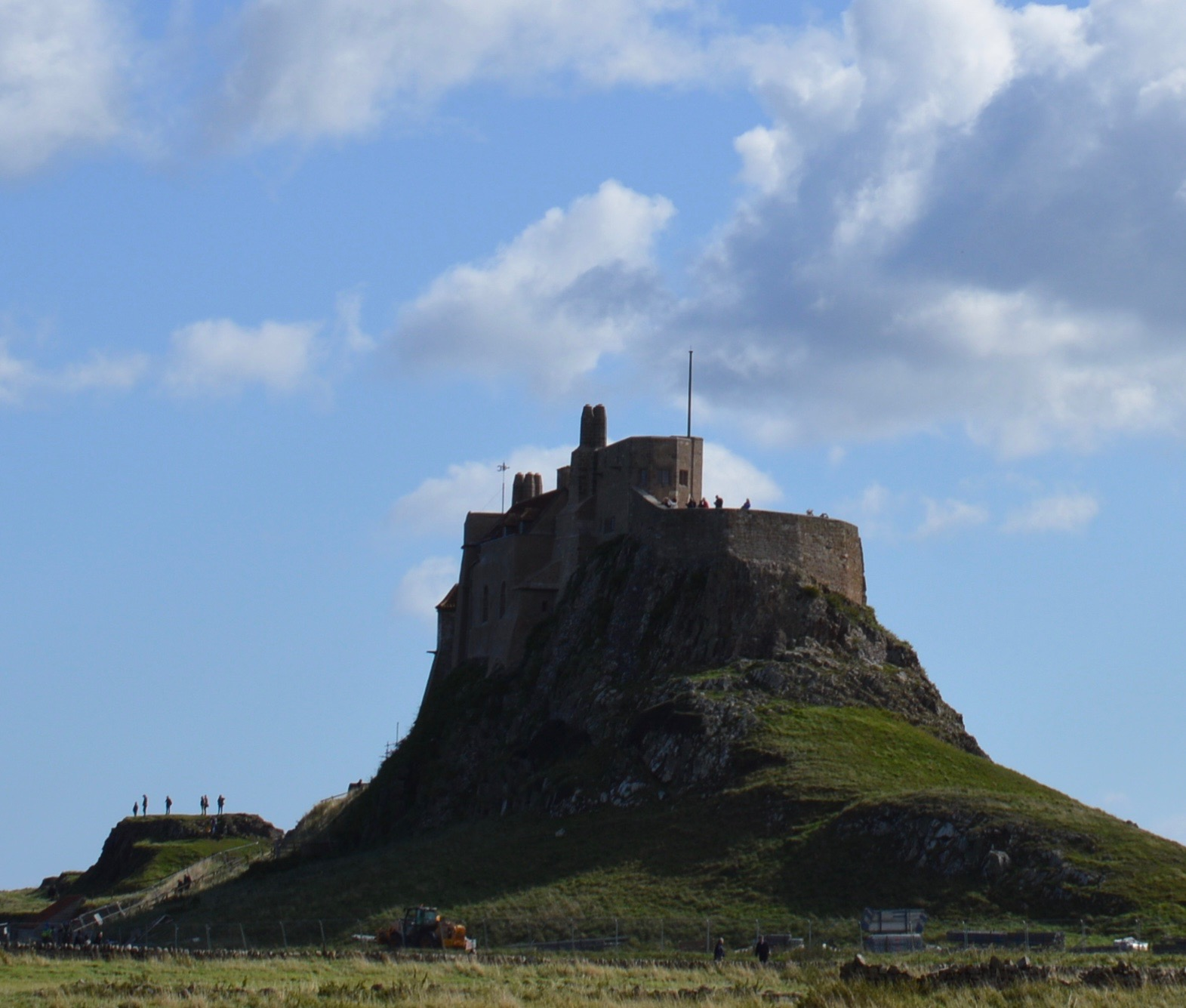 The Holy Island of Lindisfarne, Northumberland - what to see and do during a half day visit - lindisfarne castle