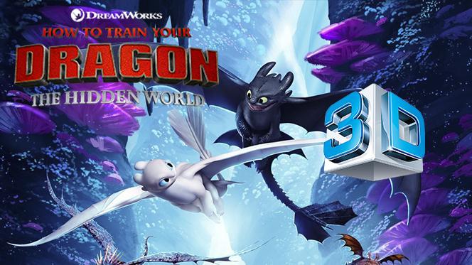 Cómo Entrenar a tu Dragón 3 (2019) 3D SBS Full 1080p Latino-Castellano-Ingles