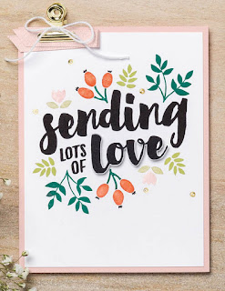 Stampin' Up! Lots of Love Project Ideas ~ 2017-2018 Annual Catalog