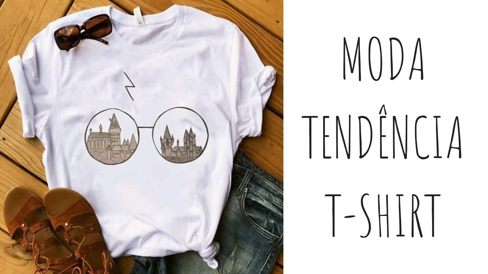Moda Tendência: t-shirt