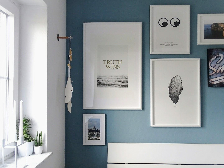 Schlafzimmer-Makeover mit neuer Wandfarbe - 4 wirkungsvolle Wege für ein Raum-Makeover und frischen Wind zu Hause - www.mammilade.blogspot.de