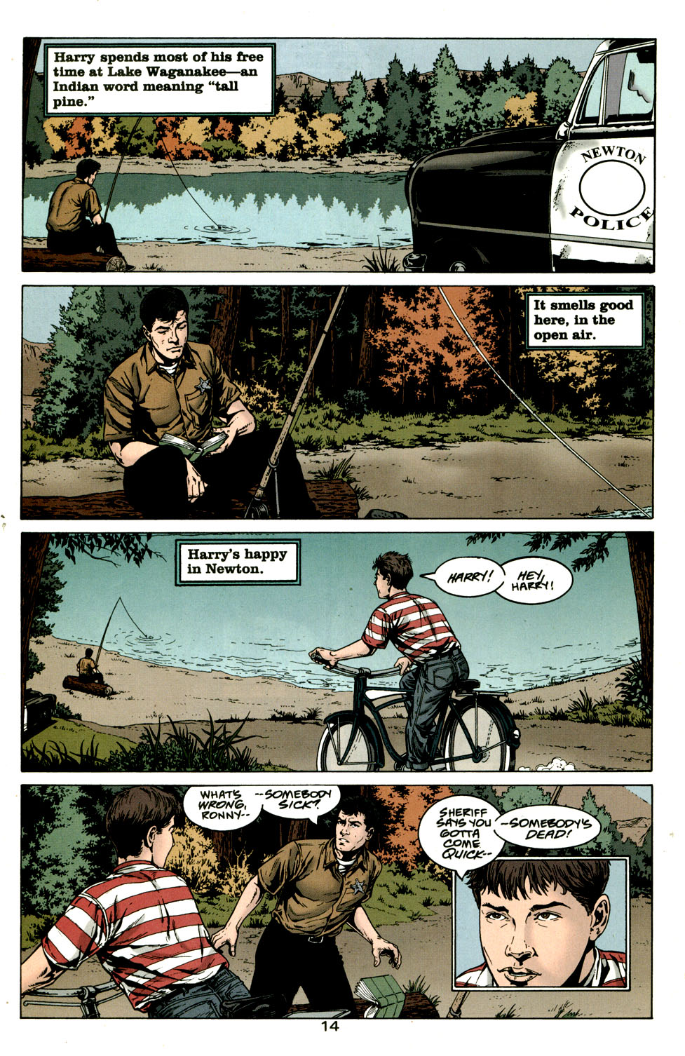 Read online American Century comic -  Issue #10 - 14