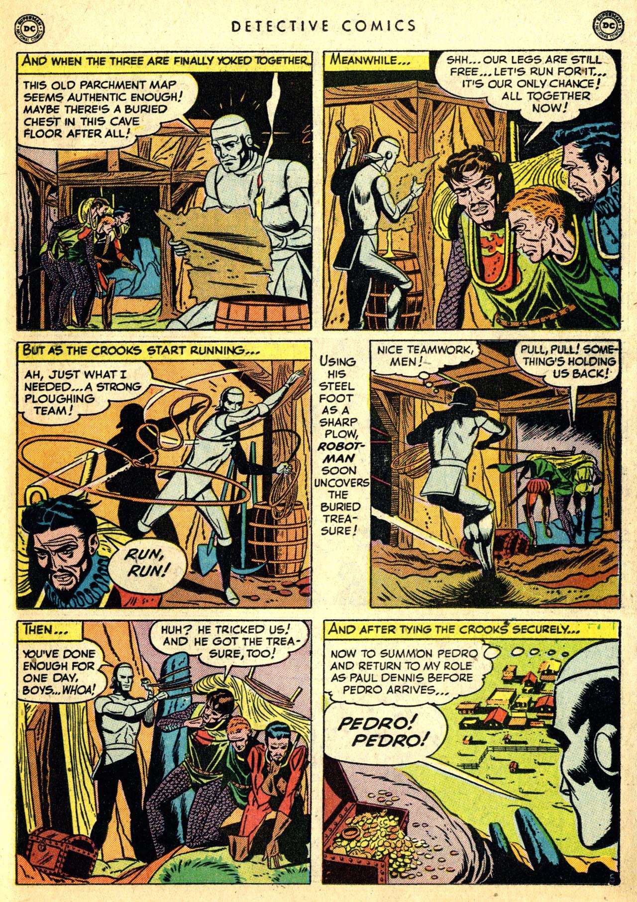 Read online Detective Comics (1937) comic -  Issue #168 - 33