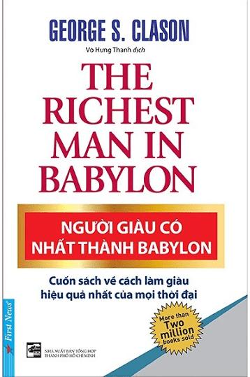 Sách Quản Trị Tài Chính: NGƯỜI GIÀU CÓ NHẤT THÀNH BABYLON - George S. Clason.