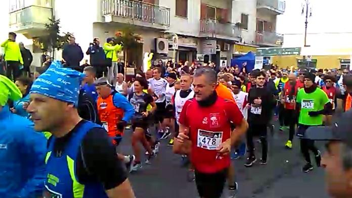 Maratona di fine anno Oplonti Trecase Run - Video