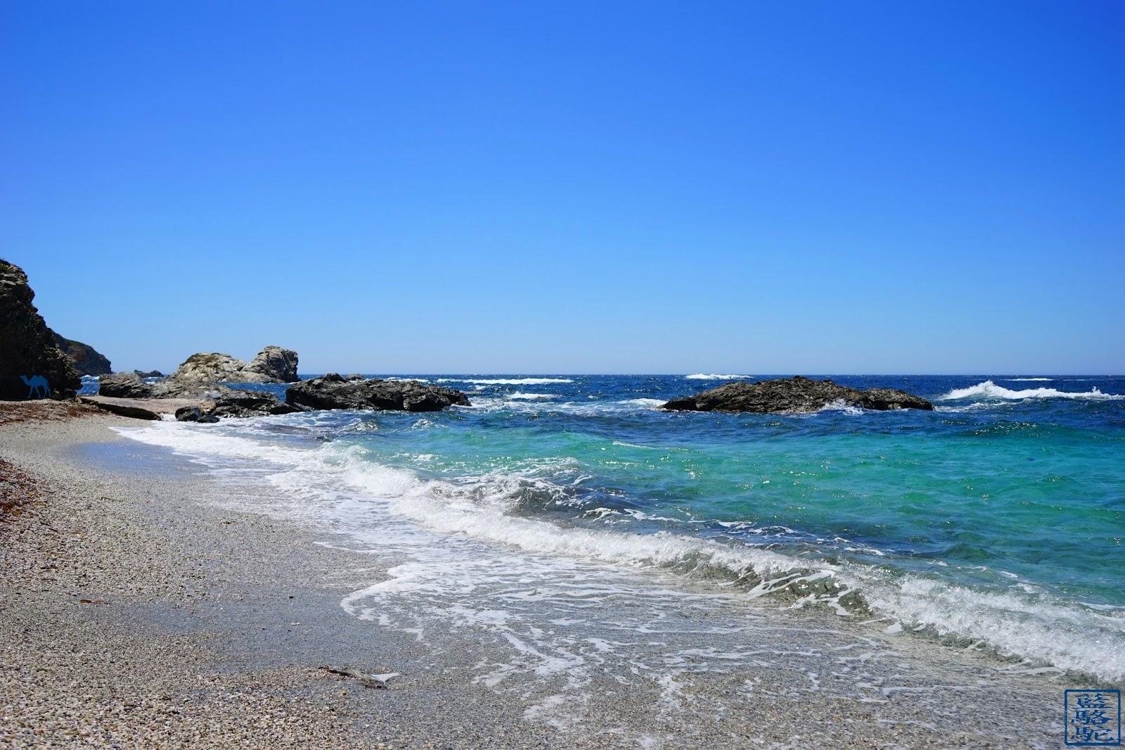 Le Chameau Bleu - Crique de l'île des Embiez - Var - Vacances Var