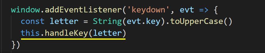 Code - Adding handler