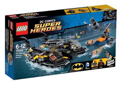 Batman LEGO Batboat Harbour Pursuit 76034 Giveaway