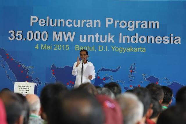 Apa Kabar Proyek Setrum 35 Ribu MW?