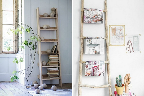 DIY Trending Decor - Amazing Decorating With Ladders
