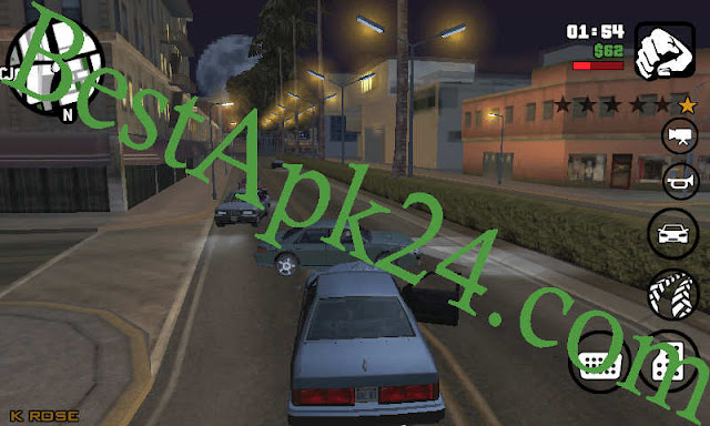 GTA San Andreas Lite v8 APK+ DATA (All GPU) (250MB) 3