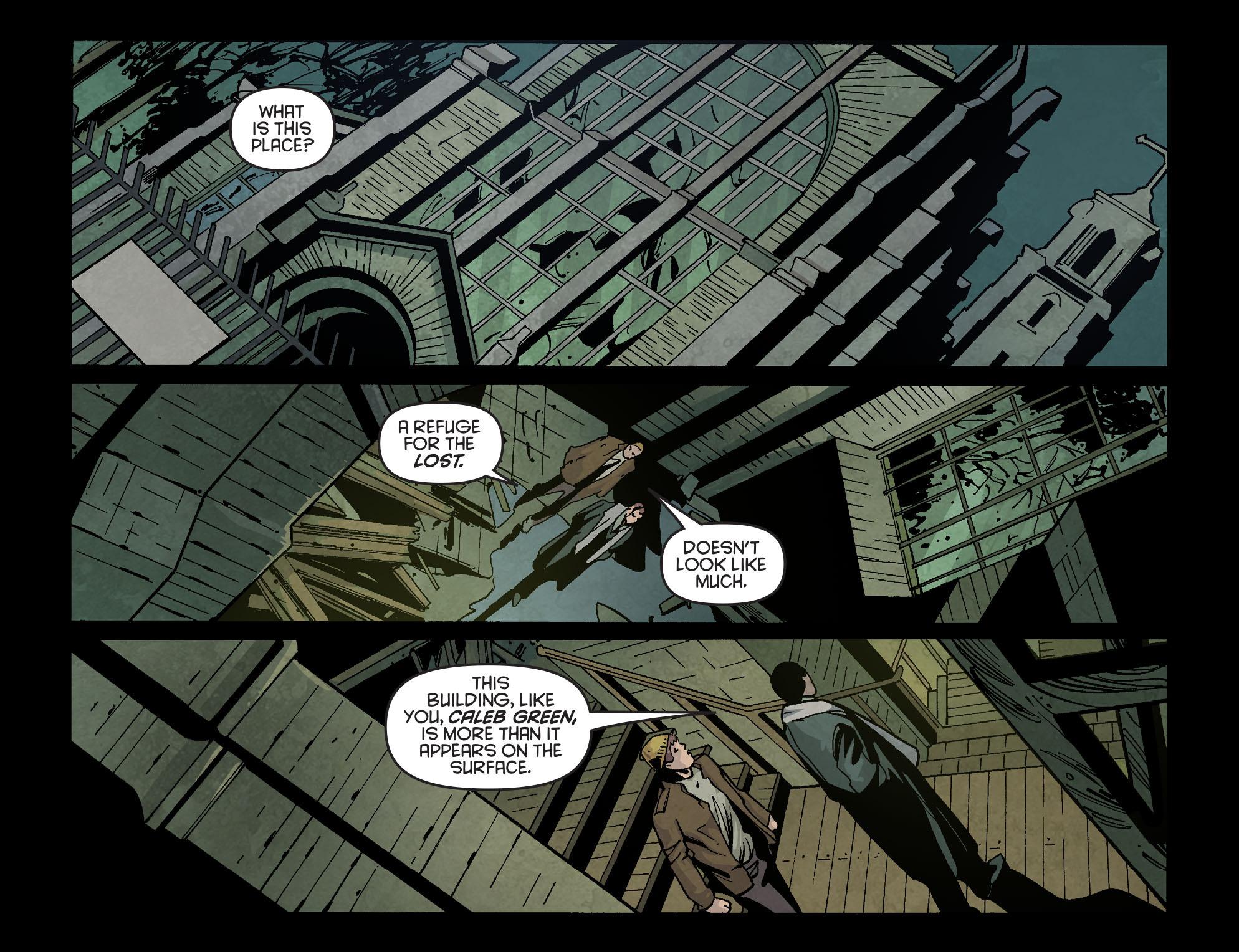 Read online Arrow: Season 2.5 [I] comic -  Issue #2 - 19