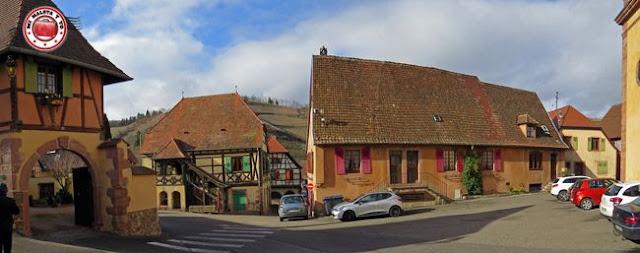 Niedermorschwihr, Alsacia, Francia