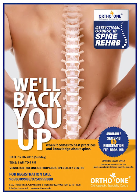 Instructional Course in Spine Rehab Coimbatore