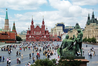 Red Square Moskow, Rusia