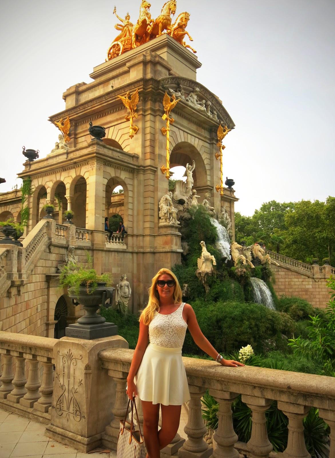 Parc de la Citadella i Barcelona