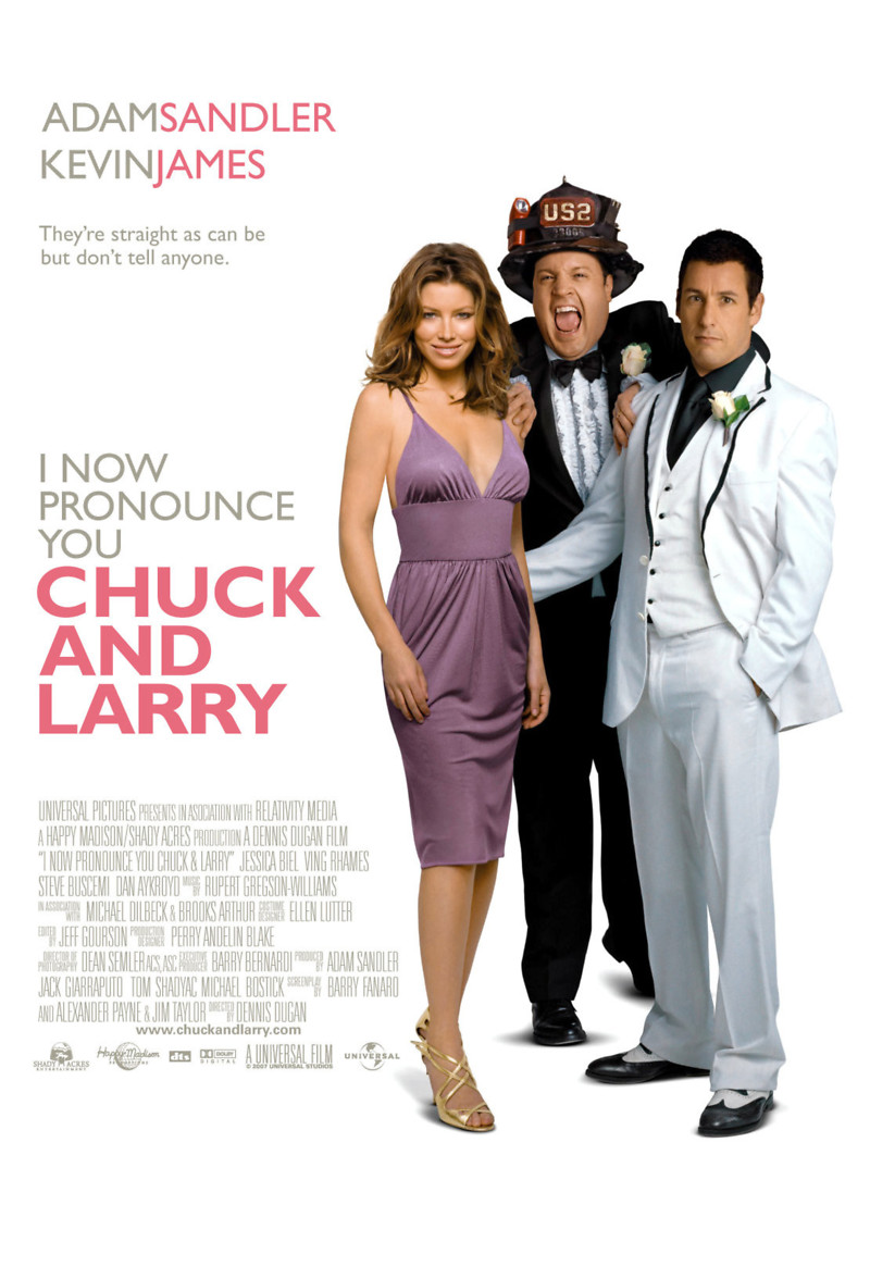 Nonton Film I Now Pronounce You Chuck and Larry (2007)