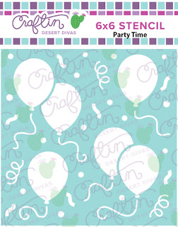 http://craftindesertdivas.com/party-time-stencil/