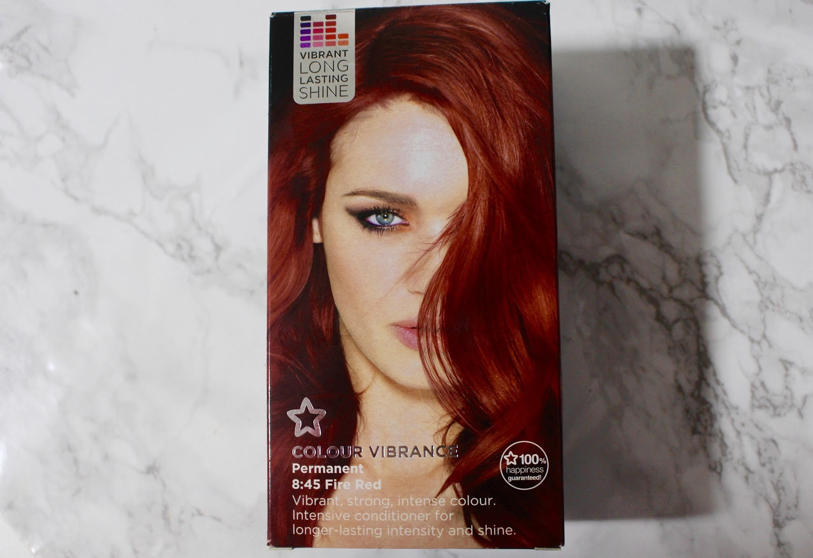 superdrug red hair dye