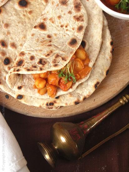 hinduski chleb czapati