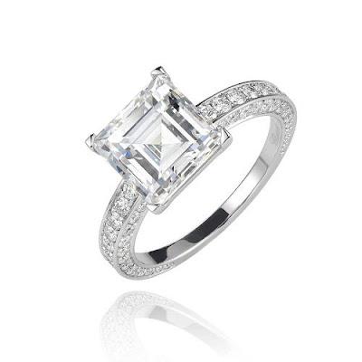 cincin tunangan mewah menawan