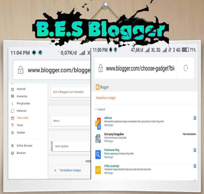 Cara Membuat Halaman About Me di Blogspot