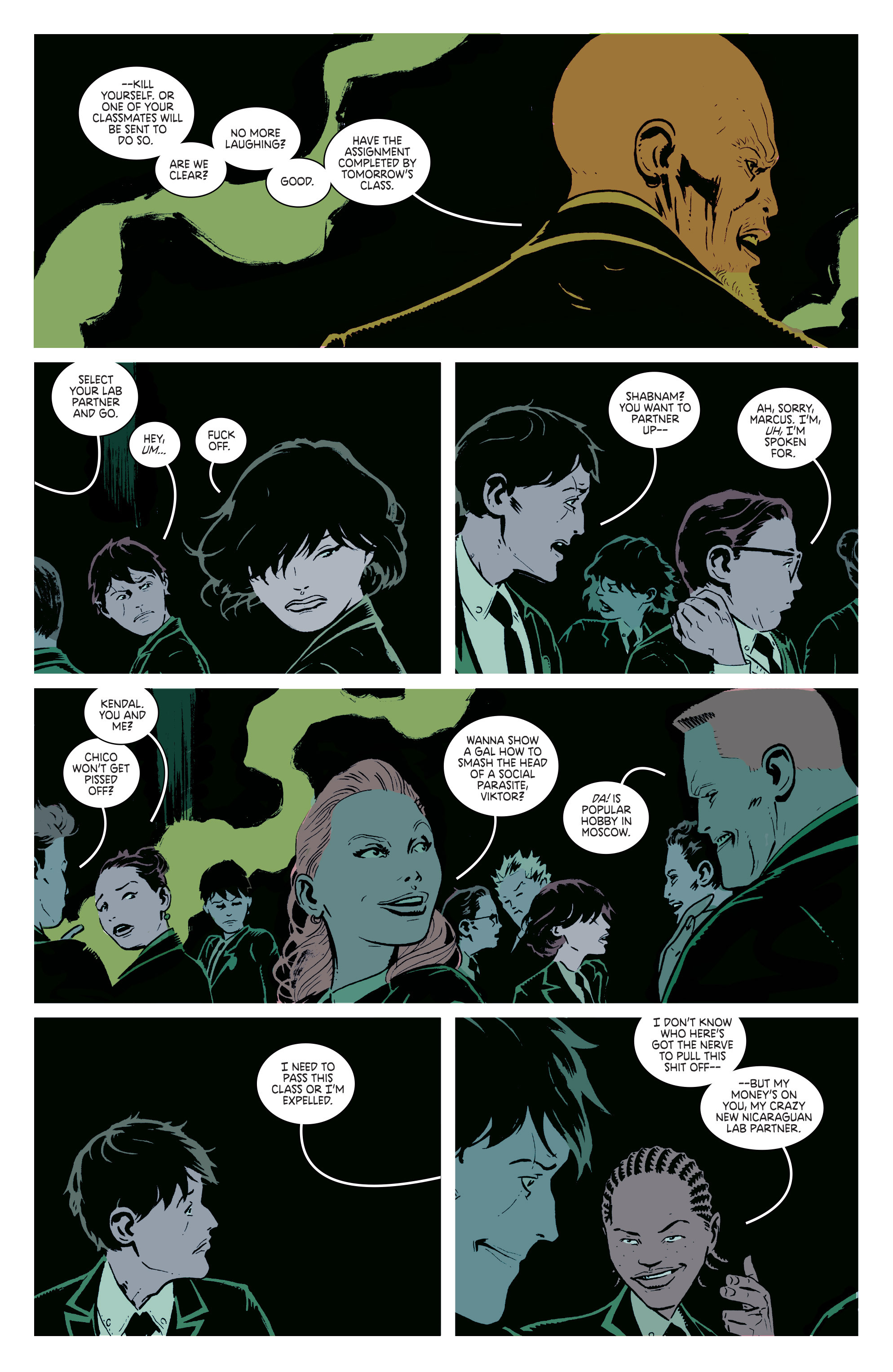 Read online Deadly Class comic -  Issue #2 - 24