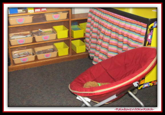 Classroom Details (Classroom Organization RoundUP at RainbowsWithinReach)