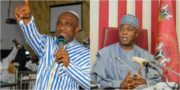 Saraki will rule Nigeria for 4 years – Primate Elijah Ayodele