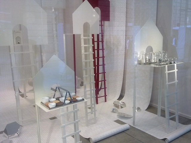 Max and co. Shop-windows with a design installation by GUMDESIGN
