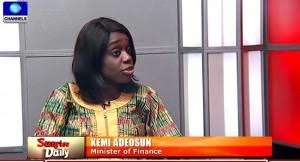 Finance Minister, Kemi Adeosun, reacts to Ezekwesili's claim of this administration operating an opaque and archaic economic policy