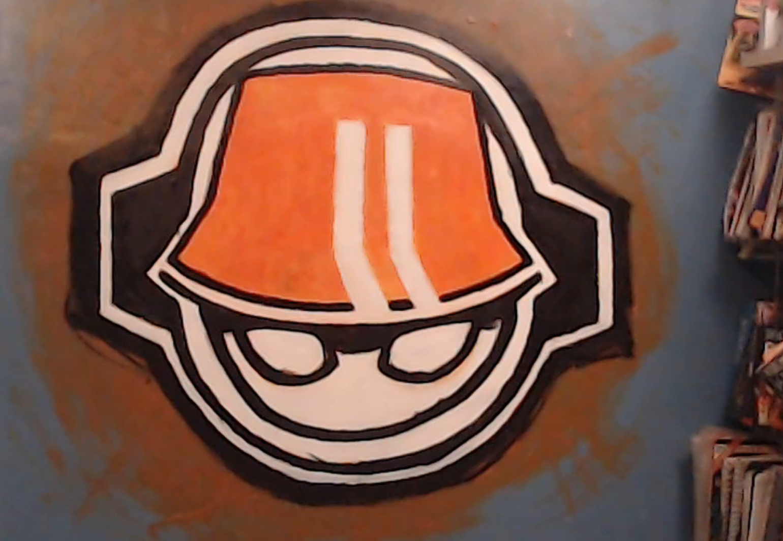 An Ewg Logo Wall Painting Eryckwebbgraphics