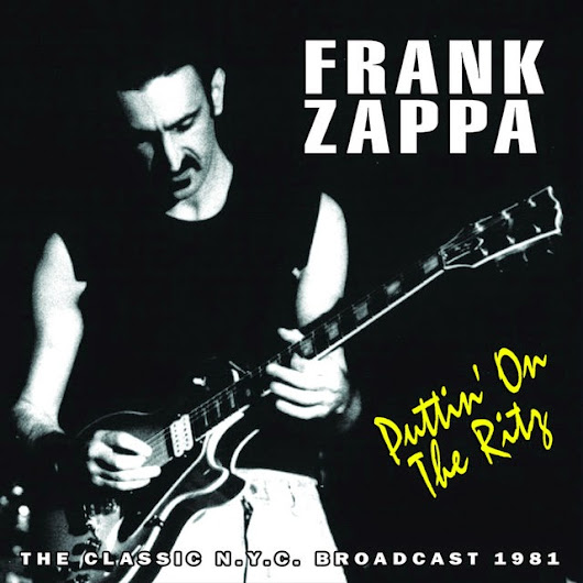Concert_PUTTIN' ON THE RITZ         ~          FRANK ZAPPA NEWSPAPER