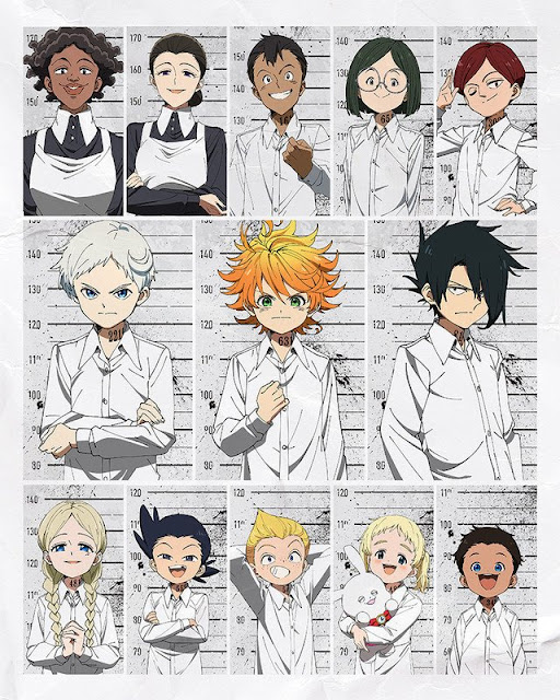 "Anime: Revelada nueva imagem promocional del anime ""The Promised Neverland"""