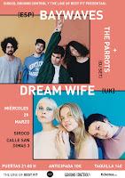 Best Fit Club presenta a Dream Wife y Baywaves en Siroco