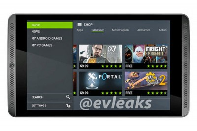 Ini Dia Penampakan Tablet NVIDIA Shield