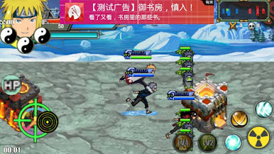 Naruto Senki MOD Unlimited Money Cavin Storm 4 Apk Android Terbaru