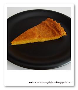 Tarta de boniato y especias