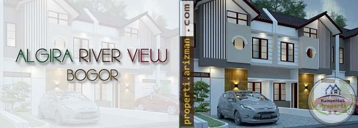 Dijual Rumah Algira River View Bogor
