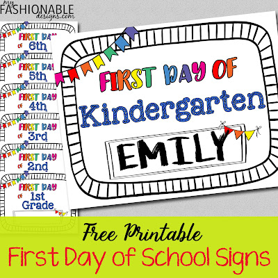 photo regarding Free Printable Templates for 1st Day of School Signs for Boys named My Contemporary Types: Absolutely free Printable 1st Working day of Higher education Signs or symptoms