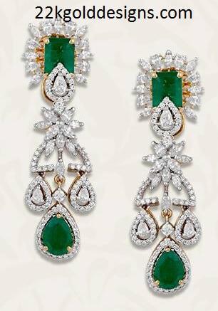 TBZ Diamond Earrings