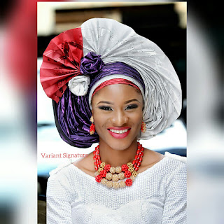 pleated  gele2
