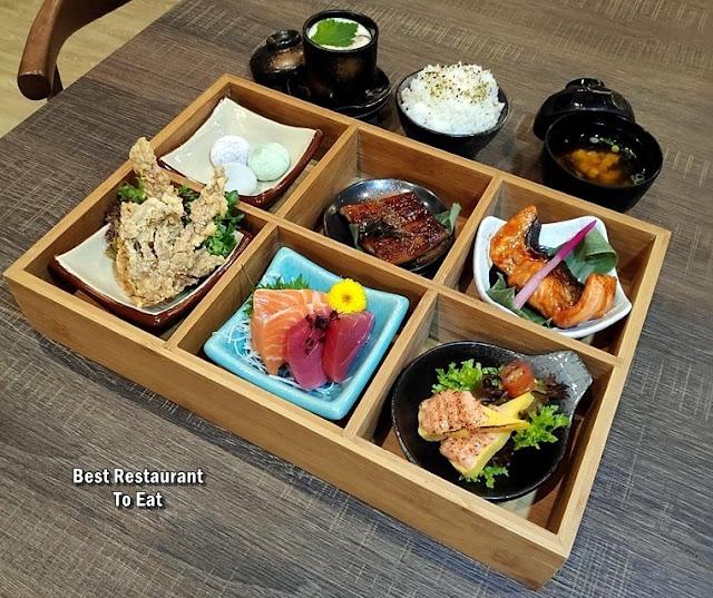 Hana Tei Gozen Bento Box
