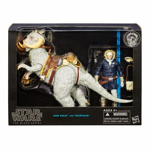 "Star Wars Han Solo with Tauntaun Deluxe Black Series 6"" Action Figure"