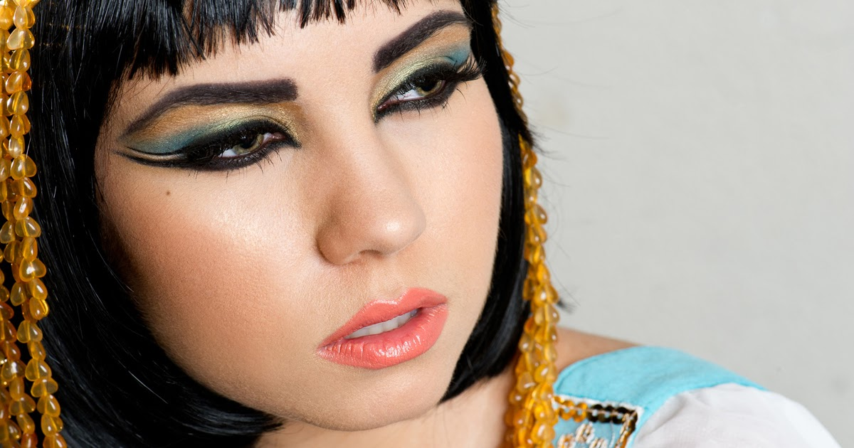 Cleopatra Inspired Makeup Look