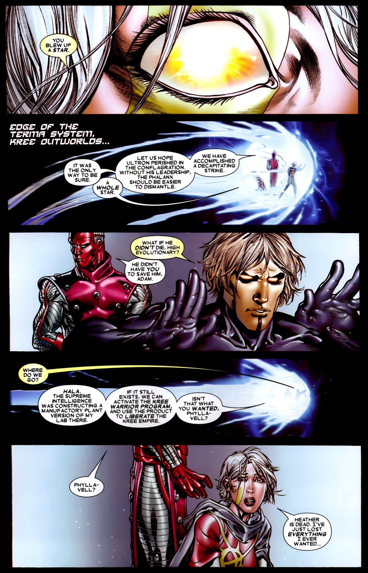 Read online Annihilation: Conquest comic -  Issue #4 - 8