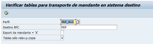 Verificar tablas SAP - Consultoria-SAP