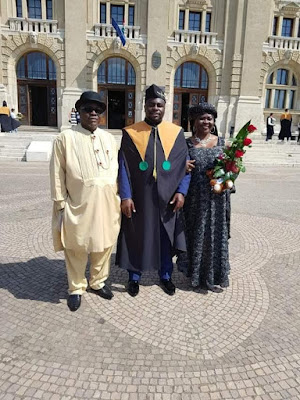Photos: Senator Sekibo's son graduates from medical school